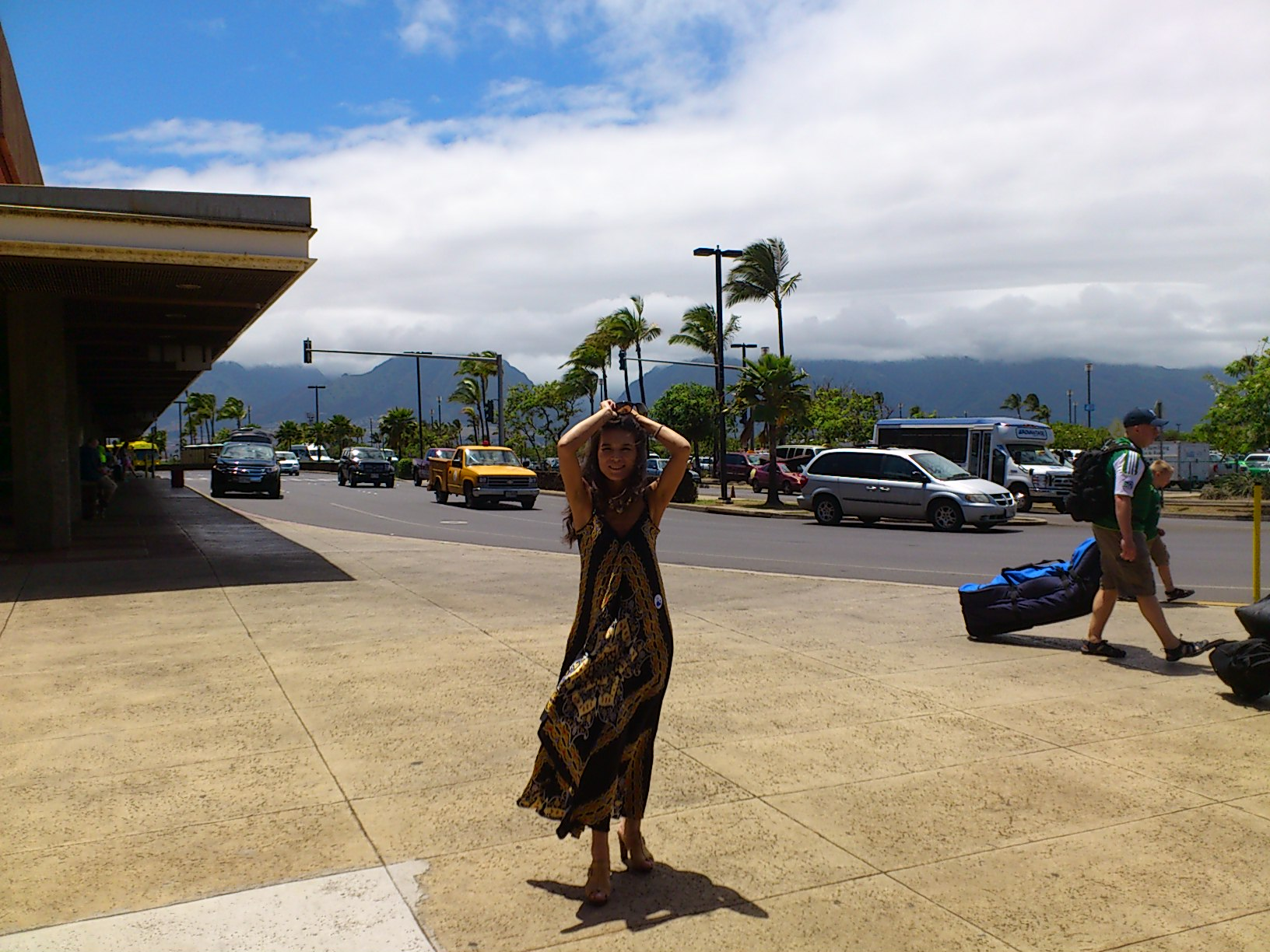 Mahalo Hawaii back to Japan
